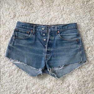 Levis Denim Shorts